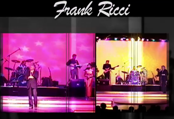 Screenshot-Frank Ricci on stage